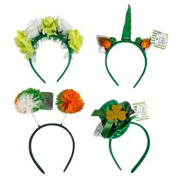 24 Units of Headband Saint Patrick Assorted - St. Patricks