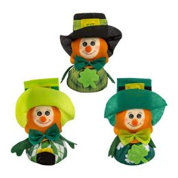 24 Units of Leprechaun Big Belly Table Decor Saint Patrick - St. Patricks