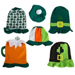 36 Units of Saint Patrick Felt Hat Assorted Styles - St. Patricks