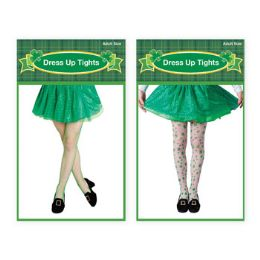 36 Units of Saint Patrick Tights Print Or Fishnet Adult - St. Patricks