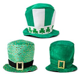 24 Units of Saint Patrick Top Hat Velvet Deluxe - St. Patricks