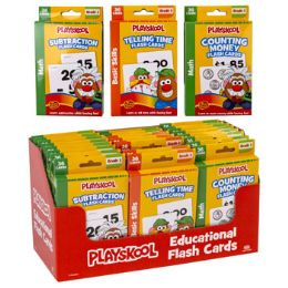 24 Units of Playskool Math Learning Cards - Coloring & Activity Books