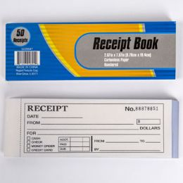 48 Units of Receipt Book Numbered - Labels ,Cards and Index Cards