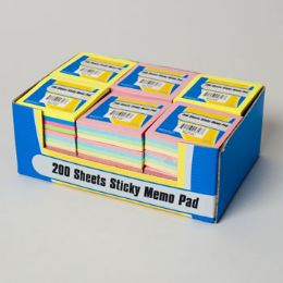 72 Units of Sticky Memo Pads - Sticky Note & Notepads