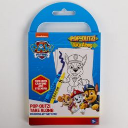 36 Units of Take Along Paw Patrol Color Book - Coloring & Activity Books