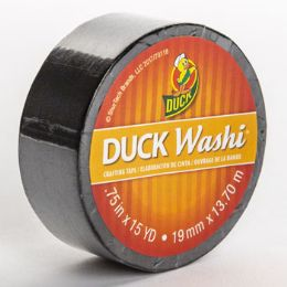 24 Units of Tape Crafting Duck Washi Black - Tape & Tape Dispensers