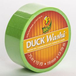 24 Units of Tape Crafting Duck Washi Lime - Tape & Tape Dispensers