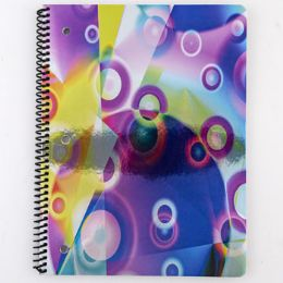 24 Units of Theme Book Color Slicks Foil - Notebooks