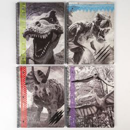 24 Units of Theme Book Dinosaurs College Ruled 70 Sheets - Notebooks