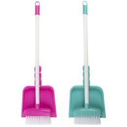 12 Units of Cleaning Playset Mini Broom - Girls Toys
