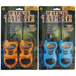 12 Units of Walking Talkie Two Pack - Light Up Toys