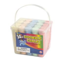 18 Units of Chalk Sidewalk Jumbo - Chalk,Chalkboards,Crayons