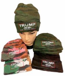 24 Units of Trump 2020 Keep American Great Again - Winter Beanie Hats