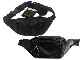 144 Units of 4 Pocket Adjustable Fanny Pack - Fanny Pack