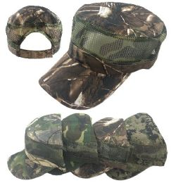 24 Units of Camo Cadet Hat - Baseball Caps & Snap Backs