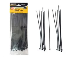 "96 Units of Black Cable Ties 75pc 8"" Long - Cable wire"