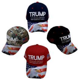 24 Units of Trump Keep America Great Hat - Caps & Headwear