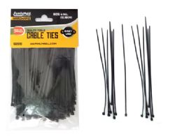 """96 Units of Cable Ties 200pc 4"""" Long Black Clr - Cables and Wires"""