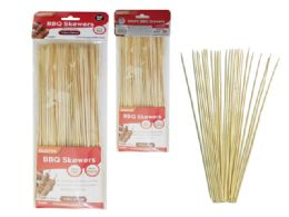 96 Units of 100pc Bamboo Bbq Skewers - BBQ supplies