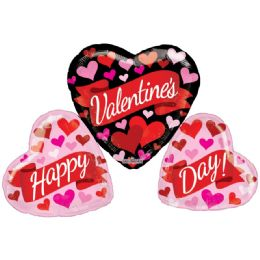 15 Units of Valentines Heart Shaped Balloon - Valentine Decorations