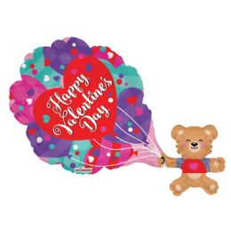 15 Units of Happy Valentines Day Balloon - Valentine Decorations
