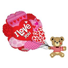 15 Units of I Love You Valentines Day Balloon - Valentine Decorations