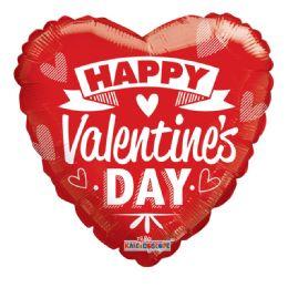 15 Units of Happy Valentines Day Balloon - Valentine Decorations