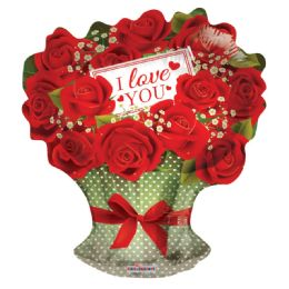 50 Units of I Love You Valentines Day Bouquet Balloon - Valentine Decorations