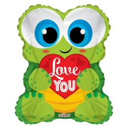 50 Units of I Love You Valentines Day Frog Balloon - Valentine Decorations