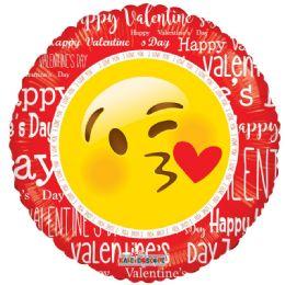 10 Units of Valentines Day Emoji Balloon - Valentine Decorations