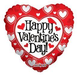 100 Units of Happy Valentines Day Balloon - Valentine Decorations