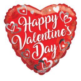 25 Units of Happy Valentines Balloon Heart Shape - Valentine Decorations