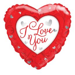 25 Units of I Love You Valentines Balloon Heart Shape - Valentine Decorations
