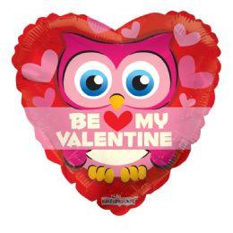 25 Units of Be My Valentine Balloon Owl Heart Shape - Valentine Decorations