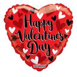 25 Units of Happy Valentine Balloon Heart Shape - Valentine Decorations