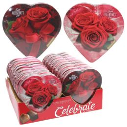 18 Units of Chocolate Rose Lace Happy Valentine - Valentine Decorations