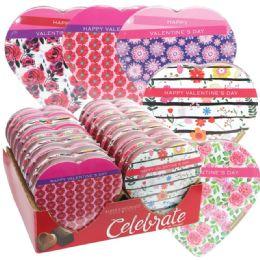 18 Units of Chocolate Flower Valentine - Valentine Decorations