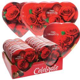 18 Units of Chocolate Roses Valentine - Valentine Decorations