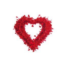 36 Units of Heart Tinsel Decoration Valentine - Valentine Decorations