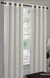 24 Units of Ramona Beige Grommet Panel - Window Curtains