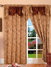 24 Units of Paula Brown Panel In Box - Window Curtains