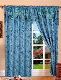 24 Units of Paula Blue Panel In Box - Window Curtains