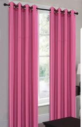 24 Units of Ramona Hot Pink Grommet Panel - Window Curtains