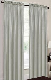 24 Units of Terri Silver Rodpocket Panel - Window Curtains