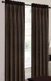 24 Units of Terri Brown Rodpocket Panel - Window Curtains