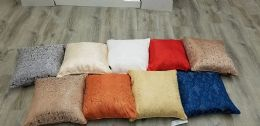 24 Units of DILLON DECORATIVE ROSE PILLOW ASSORTED - Pillows
