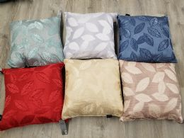 24 Units of SYDNEY LEAF PILLOW DECORATIVE - Pillows