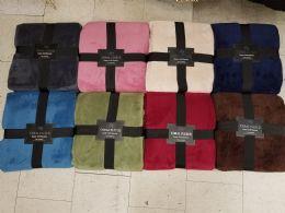 16 Units of Coral Fleece Ribbon Queen Bedding - Fleece & Sherpa Blankets