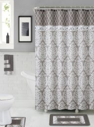 12 Units of BATHROOM RUGS SET CLAYTON - Shower Accessories