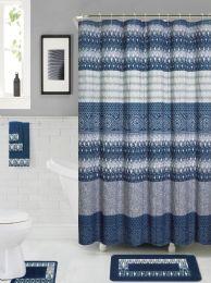 12 Units of BATHROOM RUGS SET DUBLIN - Shower Accessories